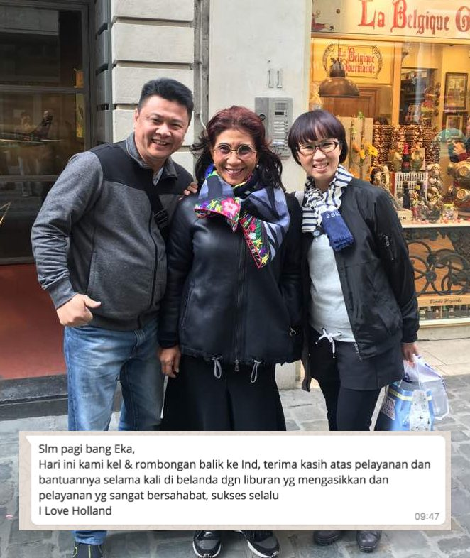 Ibu Susi, Menteri Susi, Menteri Kelautan, Wisata Belanda, Wisata Eropa