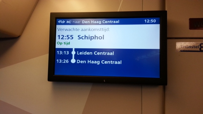 Kereta ke Schiphol