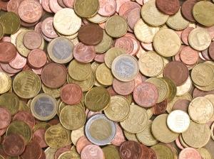 Uang Euro Koin