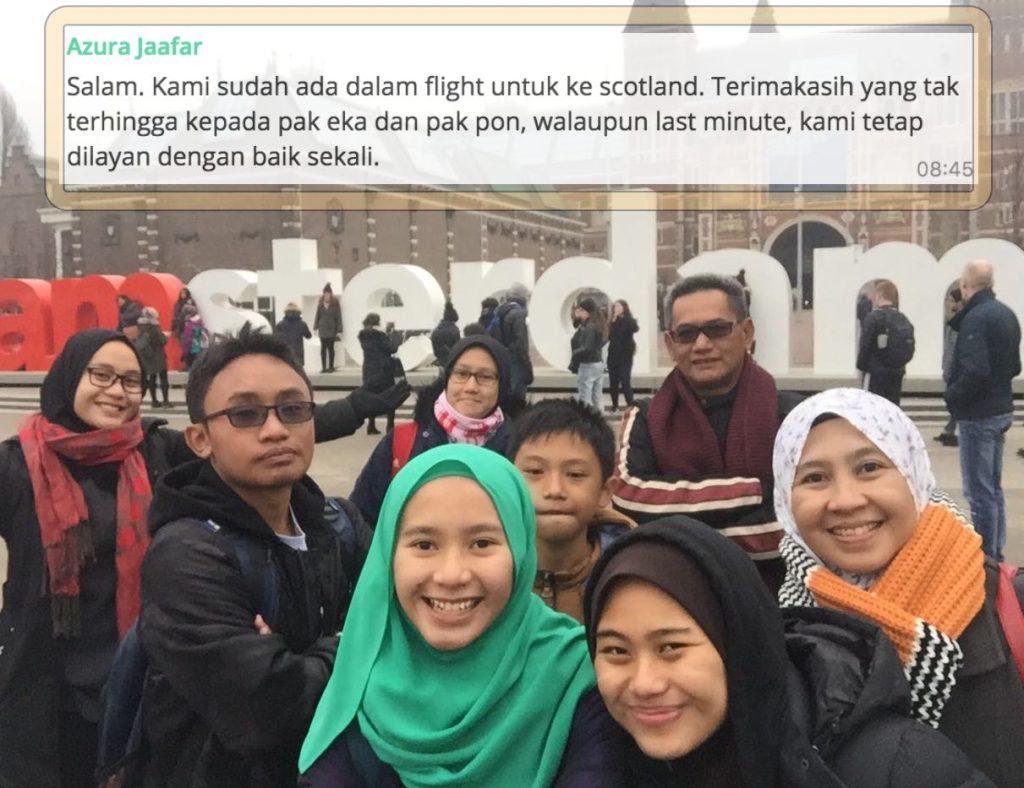 Pelancong Malaysia Ramai Pusing Pusing di Belanda Bersama Serbalanda Tour #supirsantun Kuala Lumpur, From London to Amsterdam to Giethoorn.