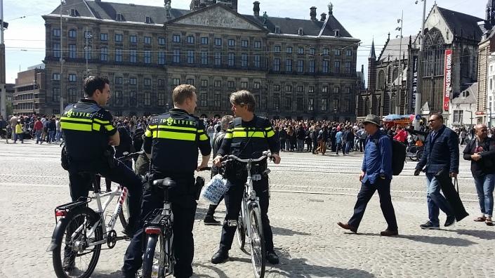 Polisi Amsterdam Pic: Serbalanda