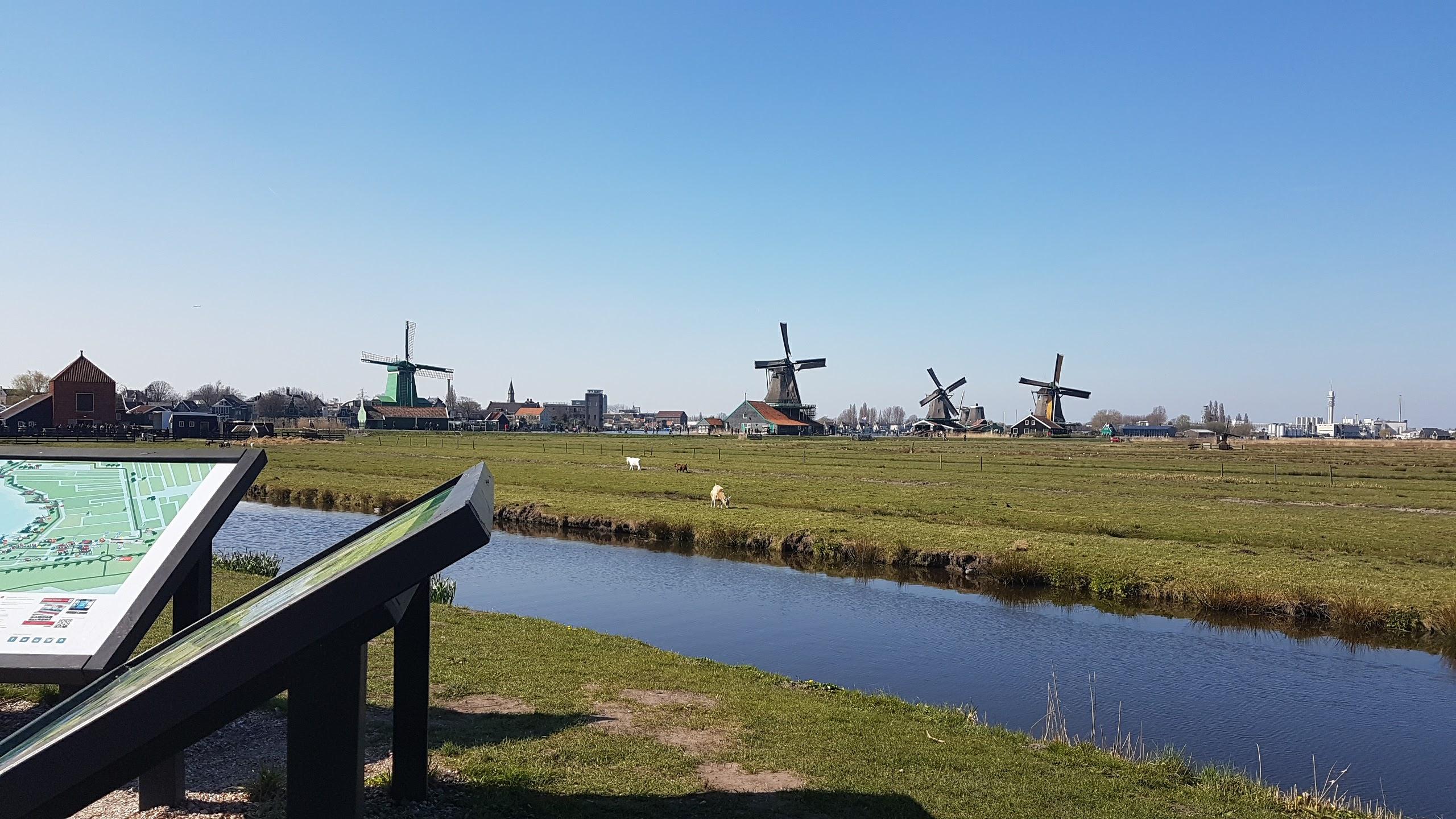 Zaanse Schans, Kincir Angin Belanda, Kincir Angin Tradisional, Wisata Belanda, Pemandu Wisata Orang Indonesia
