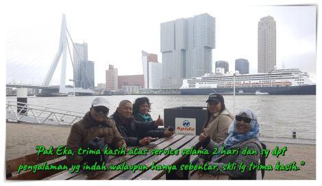 Spot Menarik Rotterdam, Jembatan Erasmus, Jalan-jalan di Rotterdam, Wisata Bersahabat, Belanda Selatan