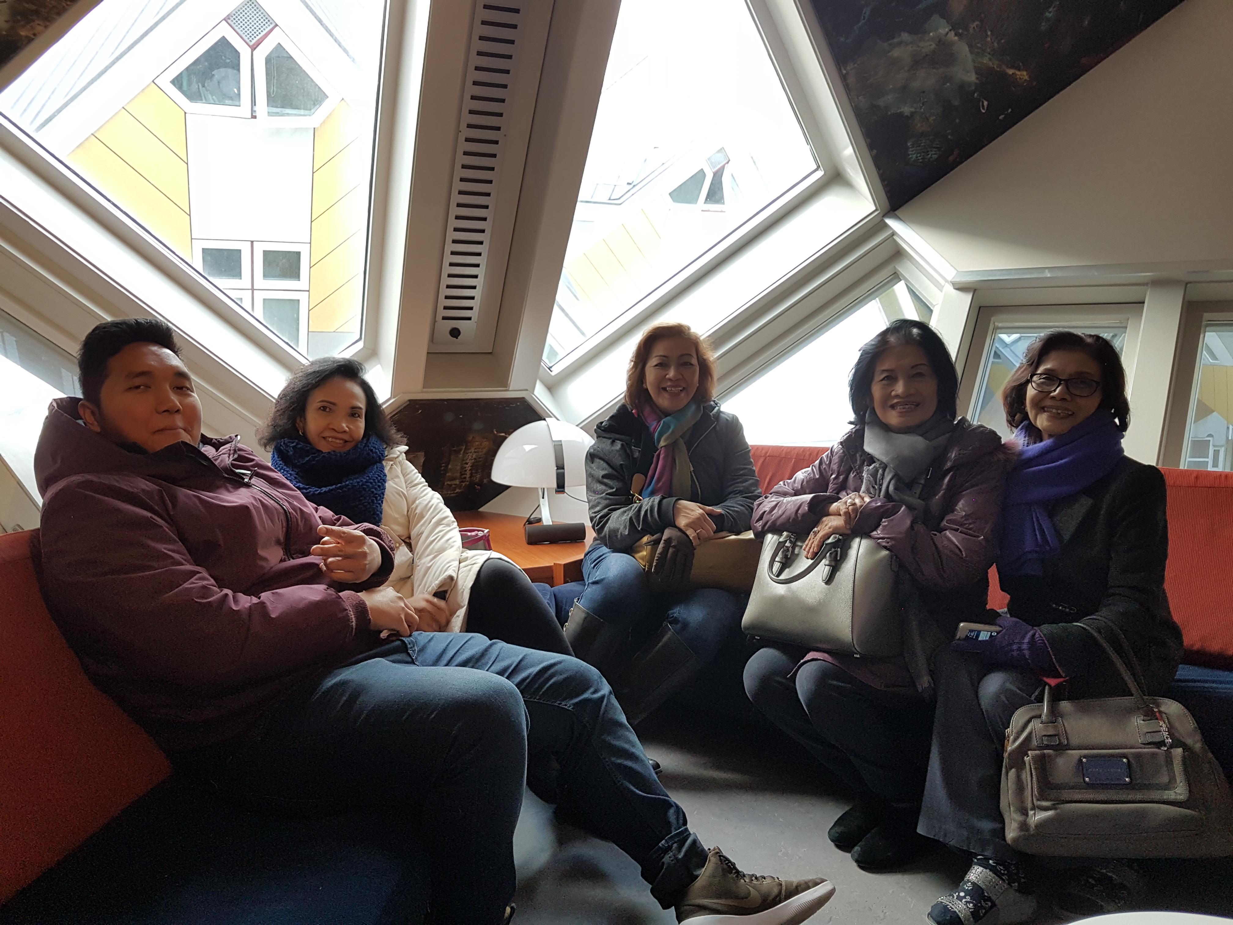 Rumah Kubus, Cube Houses, Rotteram Blaak, Wisata ke Rotterdam, Museum Rumah Kubus