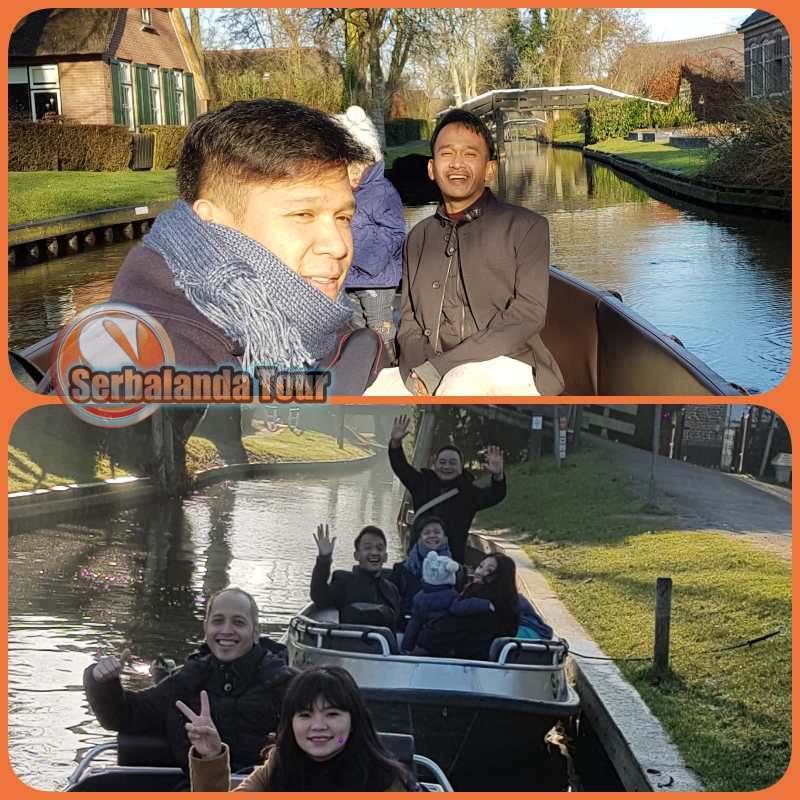 Ruben Onsu, Jordi Onsu, Talia Onsu, Sarwendah, Jalan-jalan bersama #serbalandatour #supirsantun
