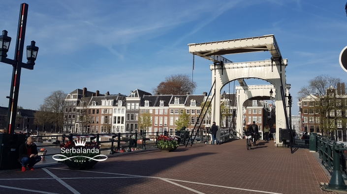 Jembatan Kayu di Amsterdam, Skinny Bridge, Sungai Amstel, Kanal-kanal Amsterdam