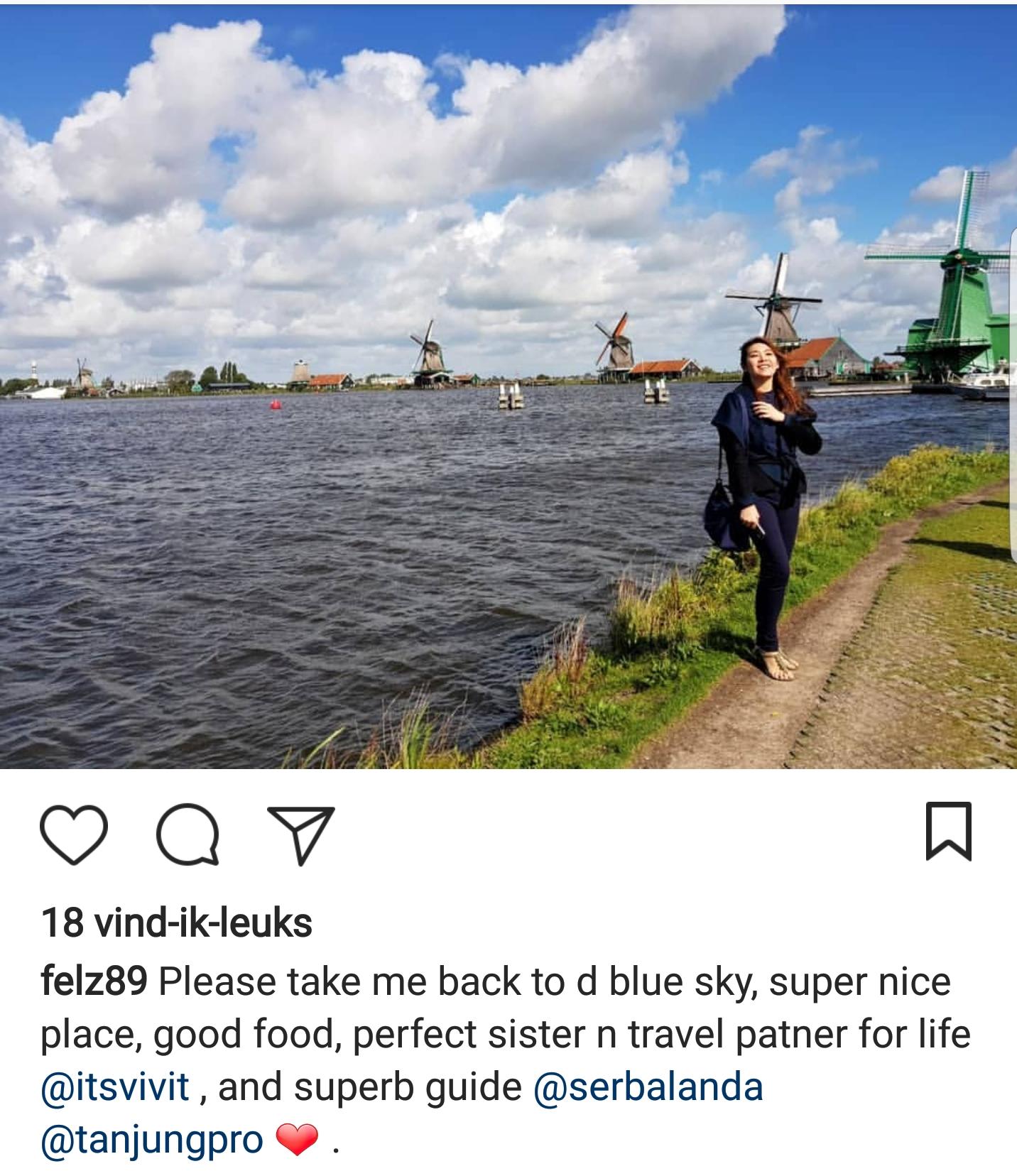 Zaanse Schans, Kincir Angin Belanda, Zaandam