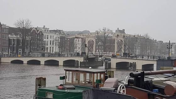 Skinny Bridge, Spot Amsterdam, Jembatan Kayu