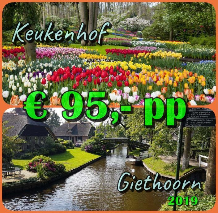 Wisata ke Keukenhof Taman Bunga Tulip, Giethoorn, Dusun Air Sunyi dan Terindah di Dunia. Wisata Belanda, Harga Teman