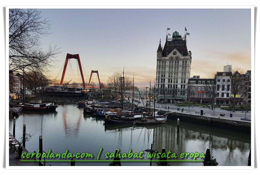 Old Port, Pelabuhan, Pelabuhan Lama Rotterdam, Blaak Rotterdam, Cube Houses, Rumah Kubus