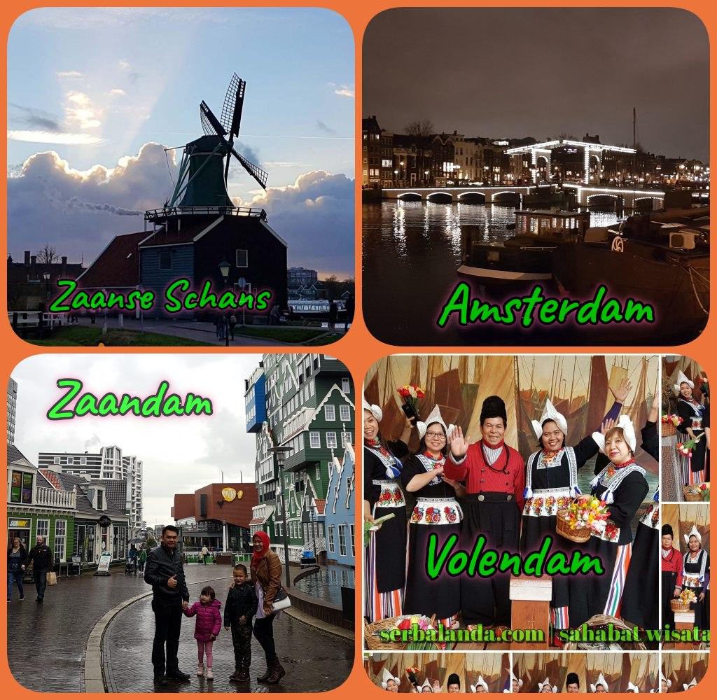 Jalan-jalan ke Amsterdam, Mencari Tempat asik di Amsterdam, Berfoto di Volendam
