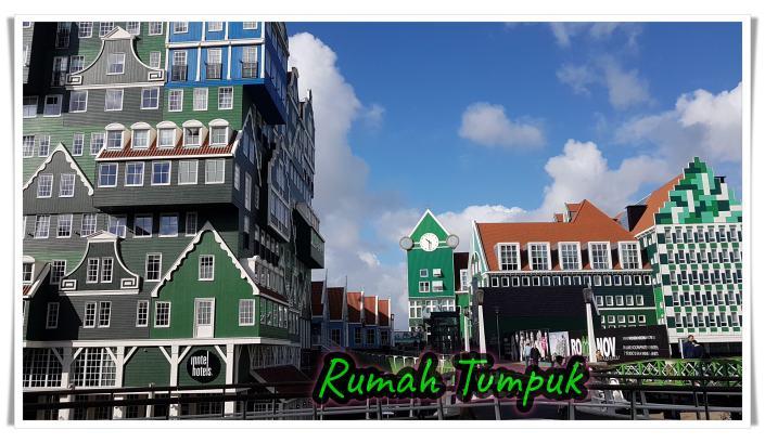 Rumah Tumpuk atau Rumah Barbie di Zaandam, Spot-spot asik di Belanda, Jalan bersama pemandu ramah dan berpengalaman.