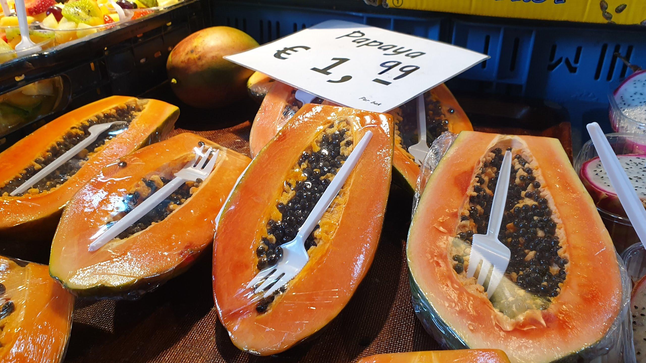Buah-buahan Eksotis, Buah Tropis, Buah di Belanda, Segar di Belanda, Wisata di Belanda. Supermarket di Belanda. Pemandu Wisata Indonesia di Belanda dan Paris