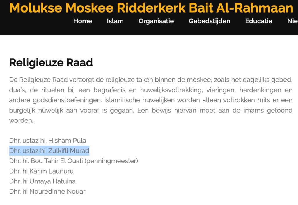 Mesjid di Belanda, Masjid Indonesia di Belanda, Masjid Maluku di Belanda, Orang Maluku Islam di Belanda. Sholat di sekitar Rotterdam Belanda, Virus Corona, Covid-19, Pemakaman Muslim saat Corona.